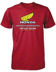Honda Vintage T-Shirt Red