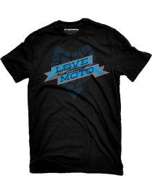 Darius Love Moto T-Shirt Black