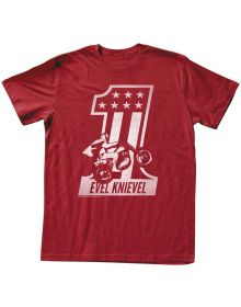 Evel Knievel One T-Shirt Red