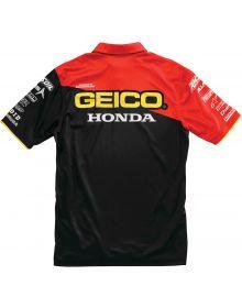 100% Geico Honda Team Pit Shirt Black