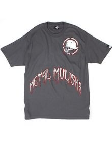 Metal Mulisha Ice Factor T-shirt Charcoal