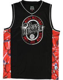 Metal Mulisha Beer Hunter Jersey Tank Black