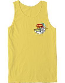 FMF Pipe Dreamer Tank Top Yellow