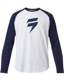 Shift MX 2020 Republic Long Sleeve Shirt White/Navy
