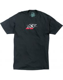 Speed and Strength Racer T-Shirt Black