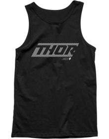 Thor Lined Tank Top Black