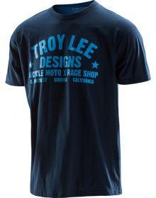 Troy Lee Designs Race Shop T-shirt Navy/Blue