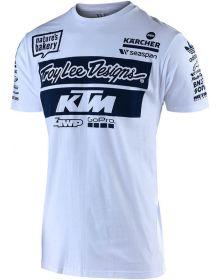 Troy Lee Designs KTM Team 2019 T-shirt White