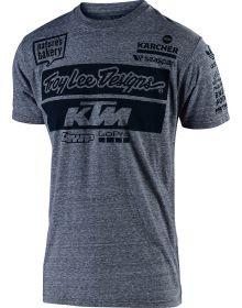 Troy Lee Designs KTM Team 2019 T-shirt Vintage Gray Snow