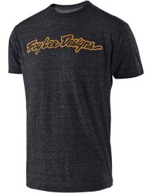 Troy Lee Designs Signature T-shirt Charcoal Heather