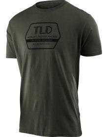 Troy Lee Designs Factory T-Shirt Surplus Green