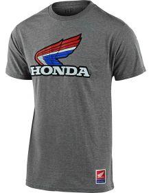 Troy Lee Designs Honda Retro Victory Wing T-shirt Ash Heather