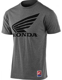 Troy Lee Designs Honda Wing T-shirt Ash Heather