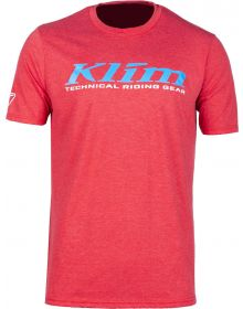 Klim K Corp T-Shirt Red Frost/Vivid Blue
