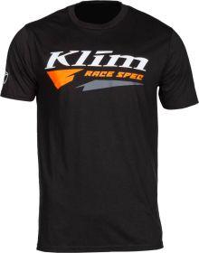 Klim Race Spec T-Shirt Black/Strike Orange