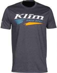 Klim Race Spec T-Shirt Charcoal/Petrol