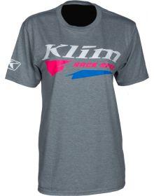 Klim Race Spec T-Shirt Gray/Knockout Pink