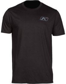 Klim Run Your Engine T-Shirt Black/High Risk Red