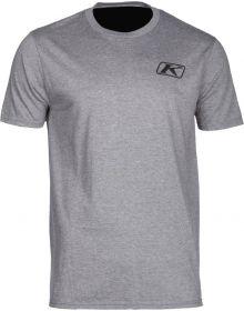 Klim Run Your Engine T-Shirt Gray/Hi-Vis