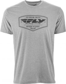Fly Racing Pathfinder T-Shirt Black Heather/Grey