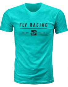 Fly Racing Pursuit T-Shirt Heather Sea Green