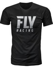 Fly Racing Logo T-Shirt Black