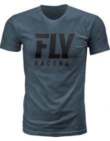Fly Racing Logo T-Shirt Indigo