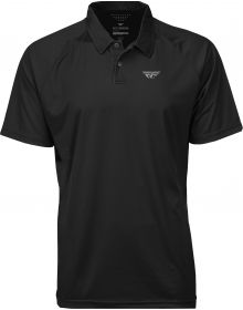Fly Racing Polo Shirt Black