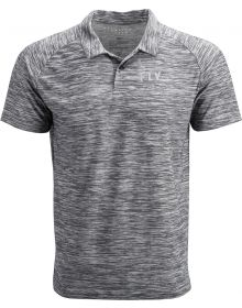 Fly Racing Polo Shirt Grey