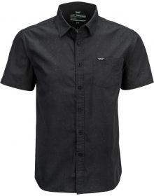 Fly Racing Button Up Shirt Black