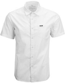 Fly Racing Button Up Shirt White