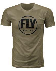 Fly Racing Coaster T-Shirt Military Green