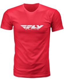 Fly Racing Corporate T-Shirt Red