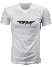 Fly Racing Corporate T-Shirt White