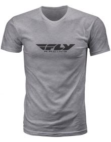 Fly Racing Corporate T-Shirt Heather Grey