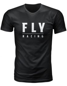 Fly Racing Logo T-Shirt Black