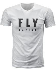 Fly Racing Logo T-Shirt White