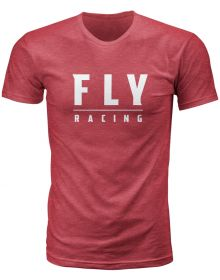 Fly Racing Logo T-Shirt Cardinal Red