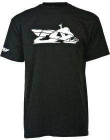 Fly Racing Primary Snow T-Shirt Black