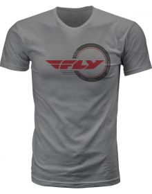 Fly Racing Standard Issue T-Shirt Heather Grey