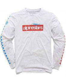 Alpinestars Again Premium Long Sleeve Shirt White