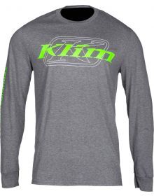Klim K Corp Longsleeve Shirt Charcoal/Electrik Gecko