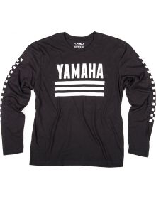 Factory Effex Yamaha Racer Long Sleeve Shirt Black