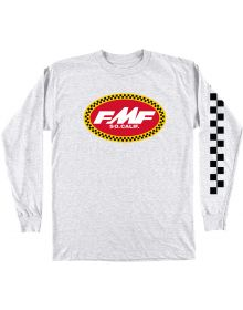 FMF Pronto Long Sleeve Shirt Grey Heather