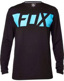Fox Racing Cease Tech Long Sleeve T-Shirt Black