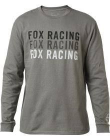 Fox Racing Upping Long Sleeve Shirt Pewter