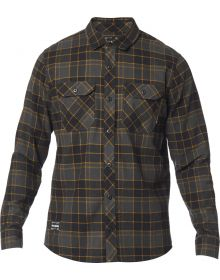 Fox Racing Traildust 2.0 Flannel Shirt Black