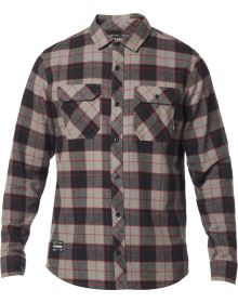 Fox Racing Traildust 2.0 Flannel Shirt Pewter