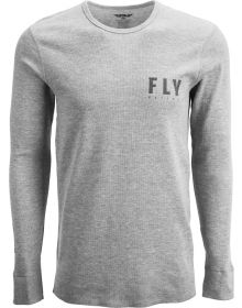 Fly Racing Thermal Long Sleeve T-Shirt Granite/Black