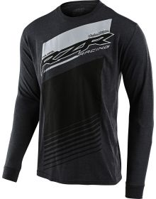 Troy Lee Designs Long Sleeve Shirt Polaris RZR Charcoal Heather